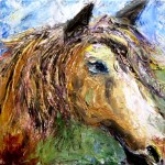 New art show about horses at the Arts Council