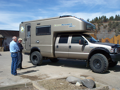 Earth Roamer extreme camper in Pagosa | Pagosa Springs Journal