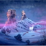 Vision of the Legend of White Deer Woman-Chimney Rock Colorado  640