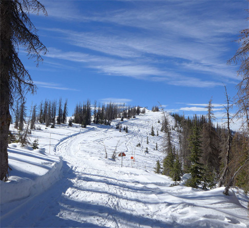 Hail Mary Storm Opens Wolf Creek For The Season Pagosa