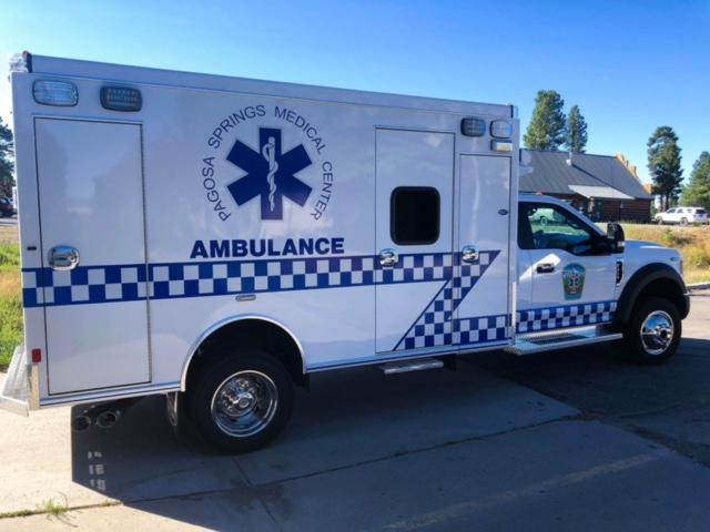 Our New Ambulance is Here! | Pagosa Springs Journal